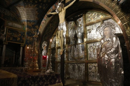 Plek kruisiging Jezus Jeruzalem