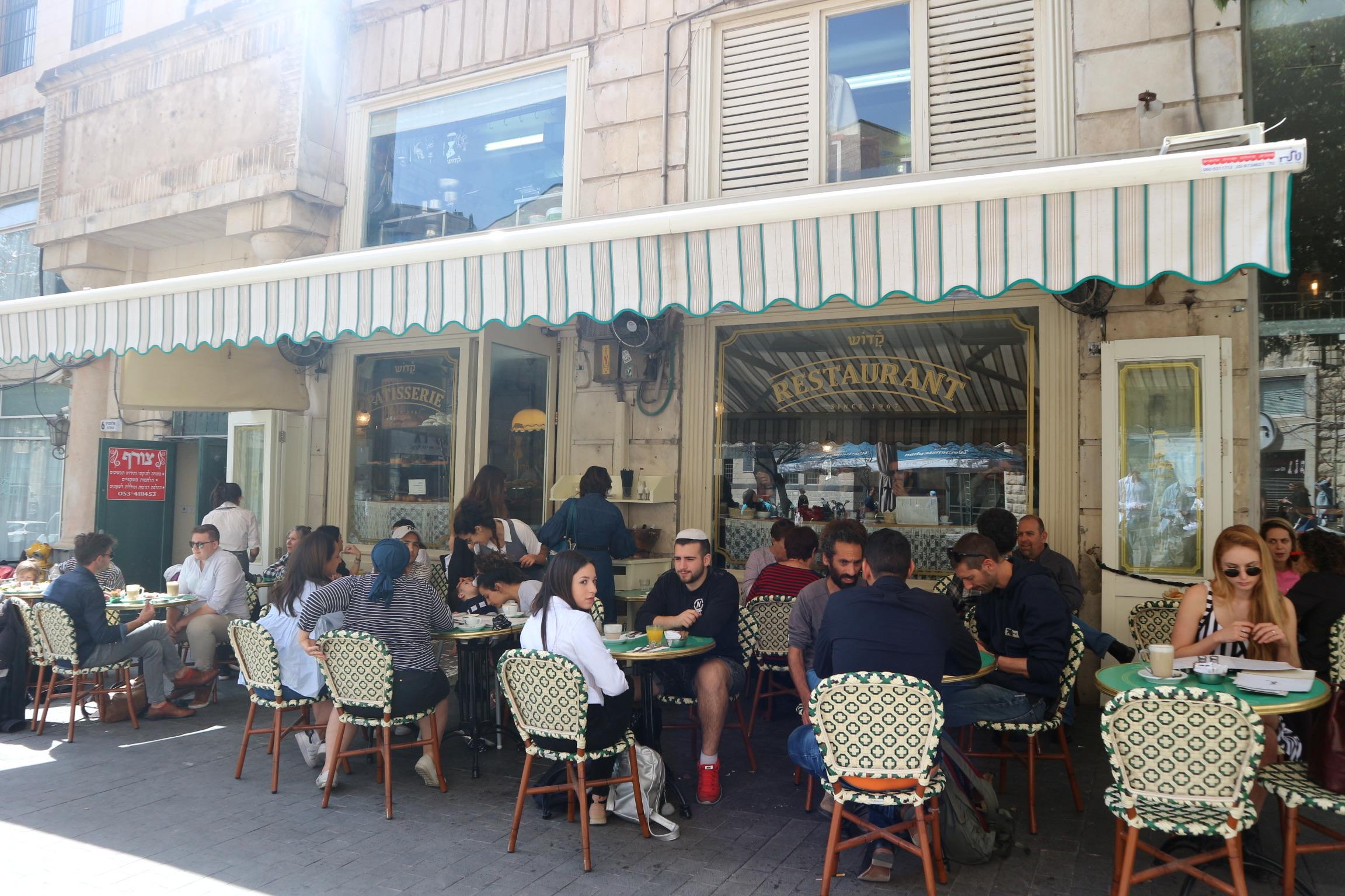 Kadosh cafe hotspot Jeruzalem