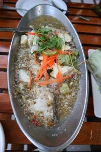 Thai Dish Beautiful Nature Khaomao-Khaofang Forest restaurant