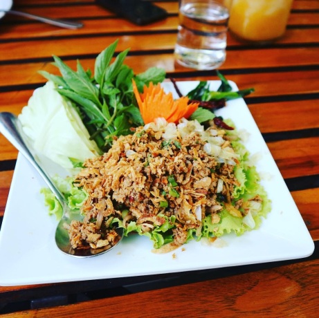 Thai Dish Beautiful Nature Khaomao-Khaofang Forest restaurant