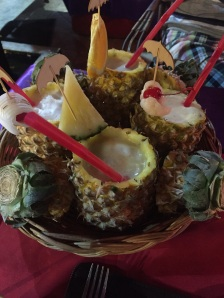 Pineapple mocktails Chilli Chiang Mai