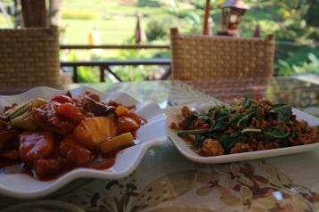 Food at Pongyang Angdoi Restaurant