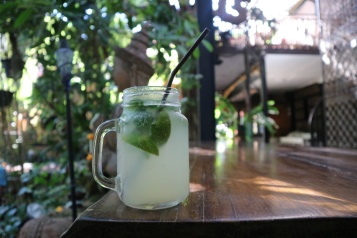 Healthy drinks at The Face Chiang Mai